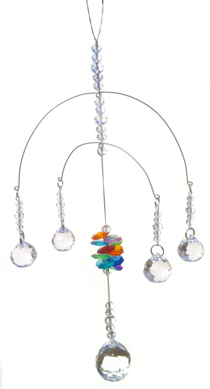 Discount4product Crystal Sun Catcher(Clear)