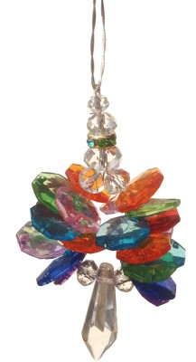 Discount4product Crystal Sun Catcher(Multicolor)