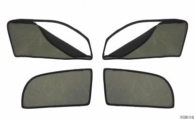 Curtain Kings Side Window Sun Shade For Hyundai i10(Black)