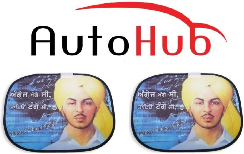 Auto Hub Side Window Sun Shade For Hyundai Sonata(Multicolor)