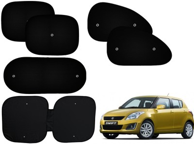 Auto Pearl Side Window, Rear Window Sun Shade For Maruti Suzuki Swift