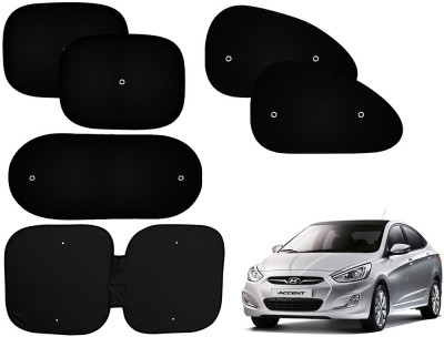 Auto Pearl Side Window, Rear Window Sun Shade For Hyundai Accent