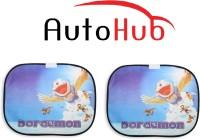 Auto Hub Side Window Sun Shade For Skoda Superb(Multicolor)