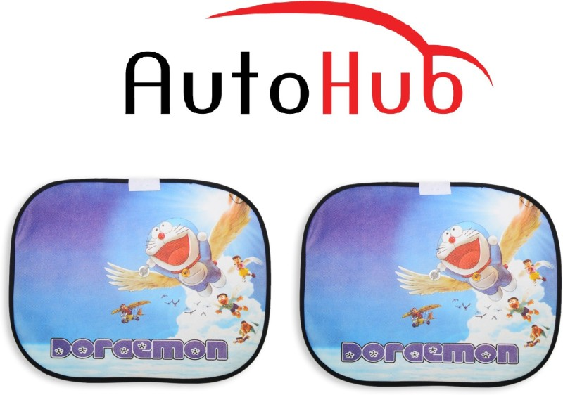 Auto Hub Side Window Sun Shade For Hyundai Tucson(Multicolor)