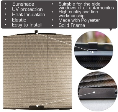 FloMaster Side Window Sun Shade For Maruti Suzuki Alto