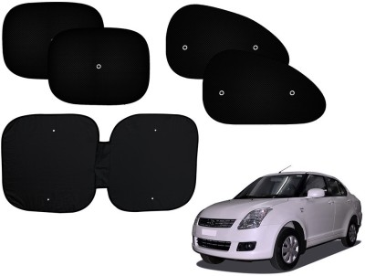 Auto Pearl Side Window, Rear Window Sun Shade For Maruti Suzuki Swift Dzire