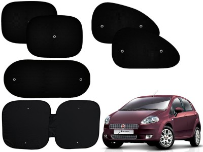 Auto Pearl Side Window, Rear Window Sun Shade For Fiat Punto