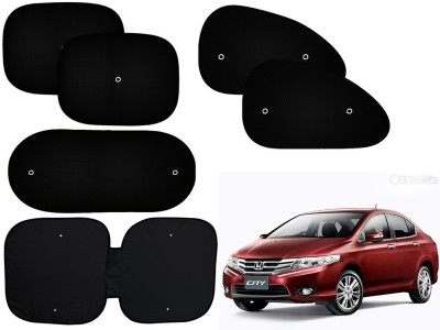 Auto Pearl Side Window, Rear Window Sun Shade For Honda City