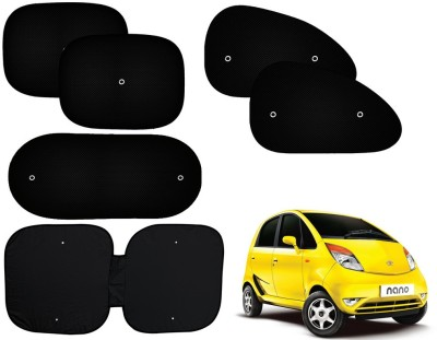 Auto Pearl Side Window, Rear Window Sun Shade For Tata Nano