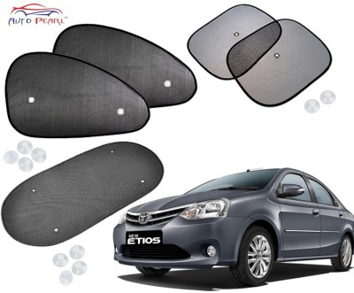 Auto Pearl Side Window Sun Shade For Toyota Etios