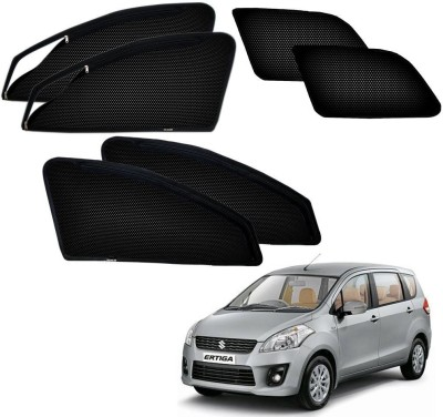 Kozdiko Premium Quality Zipper Magnetic for Maruti Suzuki Ertiga Sun Shade For Maruti Ertiga