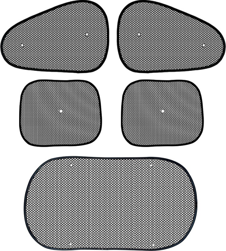 AutoKraftZ Side Window, Rear Window Sun Shade For Honda Civic(Black)