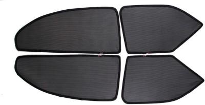 ABLEAUTO Side Window Sun Shade For Ford Fiesta Old(Black)