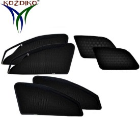 Kozdiko Side Window, Rear Window Sun Shade For Mahindra Scorpio(Black)