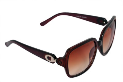 Urbanware Womens 71525 Over-sized Sunglasses(Brown)