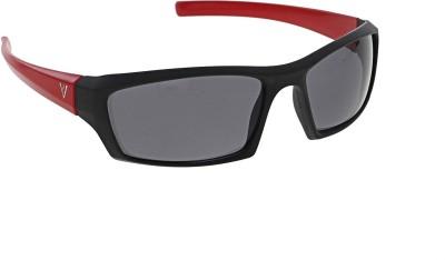 Vast NEW_NT_BLACK_RED_GREY Sports Sunglasses(Grey)