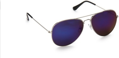 Olvin OL258-03 Aviator Sunglasses(Blue)