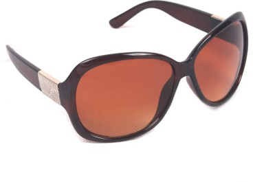 6by6 SG578 Over-sized Sunglasses(Brown)