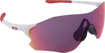 Oakley EVZero Path Matte White w/PrizmRoad Sports Sunglasses