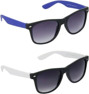 Red Knot FT8823-C6-FT8823-C11 Wayfarer Sunglasses(Black)