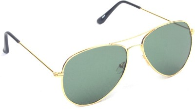 6by6 SG458 Aviator Sunglasses(Green)