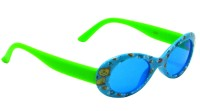 Goggy Poggy FNBABY-3002-BLU-GRN Oval Sunglasses(For Girls)