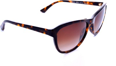 Vogue VO5008S204813 Wayfarer Sunglasses(Brown) at flipkart