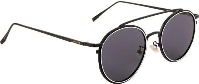 Voyage 8506MG2036 Round Sunglasses(Black)