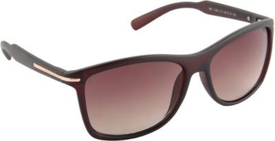 Farenheit 1293-C3 Wayfarer Sunglasses(Brown)