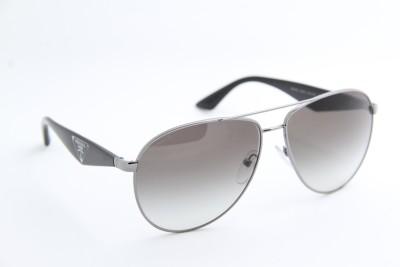 Prada 0PR 53QS Aviator Sunglasses
