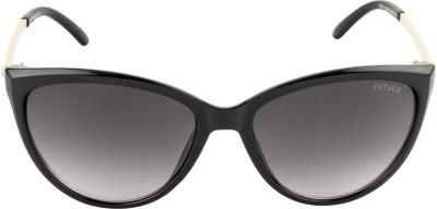 VOYAGE VO974MG1656 Cat-eye Sunglasses(Black)