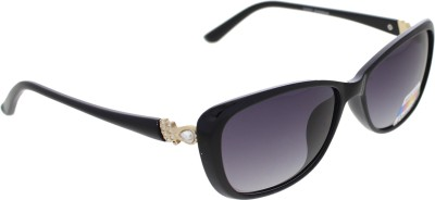 Vast WOMENS _POLO_705_C1_BLACK Cat-eye Sunglasses(Grey)