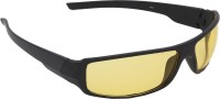 ABLOOM SG113 Wrap-around Sunglasses(Yellow)