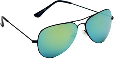 6by6 SG1488 Aviator Sunglasses(Green)