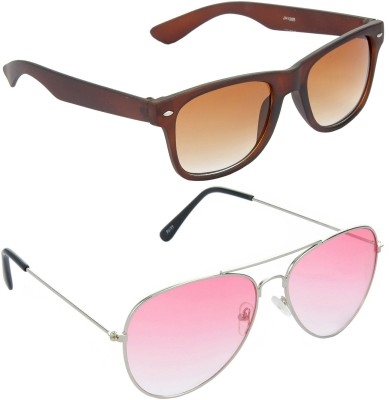 Red Leaf RCMB421_1 Wayfarer, Aviator Sunglasses(For Boys)