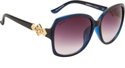O Positive Designer Rectangular Sunglasses