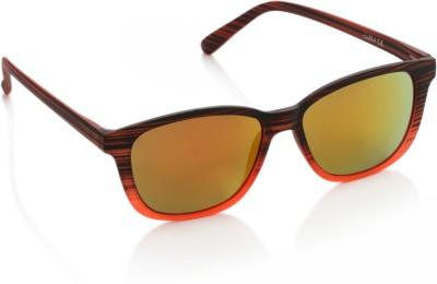 Joe Black JB-1014-C4 Wayfarer Sunglasses(Orange)