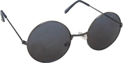 Floyd Fb_12020_g.Mtl_grey Round Sunglasses(Grey)