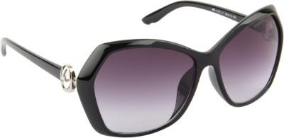 Farenheit 1242-C1 Cat-eye Sunglasses(Grey)