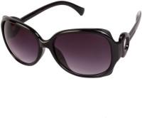Louise & Harris LHS-032 Oval Sunglasses(Black)