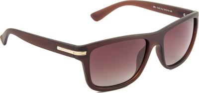 Farenheit FA-1145P-C2-New Wayfarer Sunglasses(Brown)