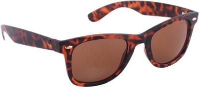 Joe Black JB-708-C5 Wayfarer Sunglasses(Brown)