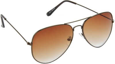 Red Leaf RD-BX17_1 Aviator Sunglasses(Brown)