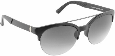 IRAYZ 1217 Round Sunglasses(Black)