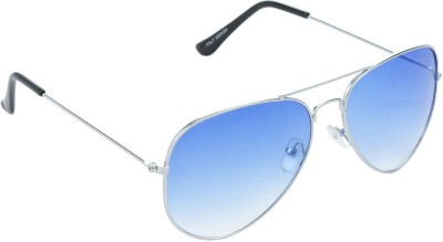 Red Leaf RD-BX02_1 Aviator Sunglasses(Blue)