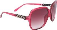 Camerii SOWBR2Best102 Over-sized Sunglasses(Grey)