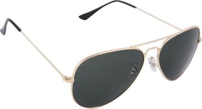 Imagica Golden Aviator Sunglasses