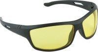 Blackburn BB845 Wrap-around Sunglasses(Yellow)