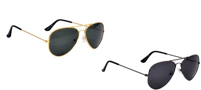 Sicario Moda Retro Aviator Sunglasses
