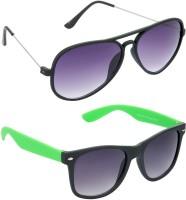Red Leaf RCMB326_1 Aviator Wayfarer Sunglasses(For Boys)